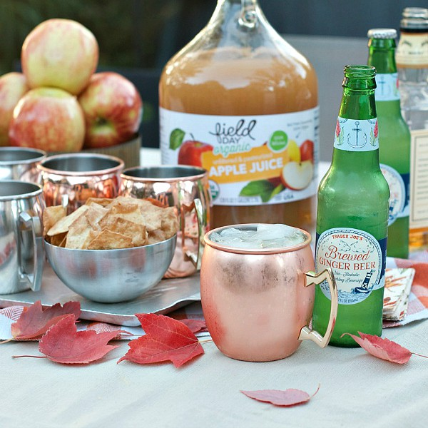 Easy Apple Moscow Mule