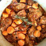Paprika Sweet Potato Chicken Thighs