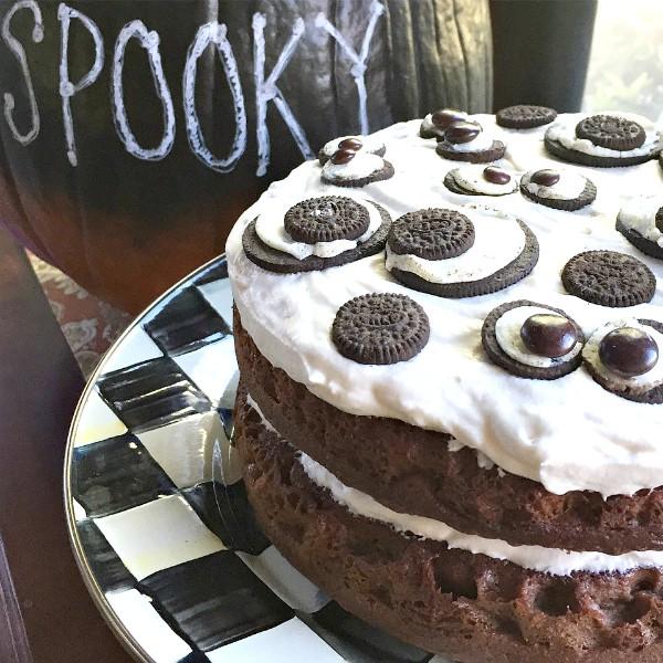 Spooky Oreo Halloween Cake #SpookySnackLabContest