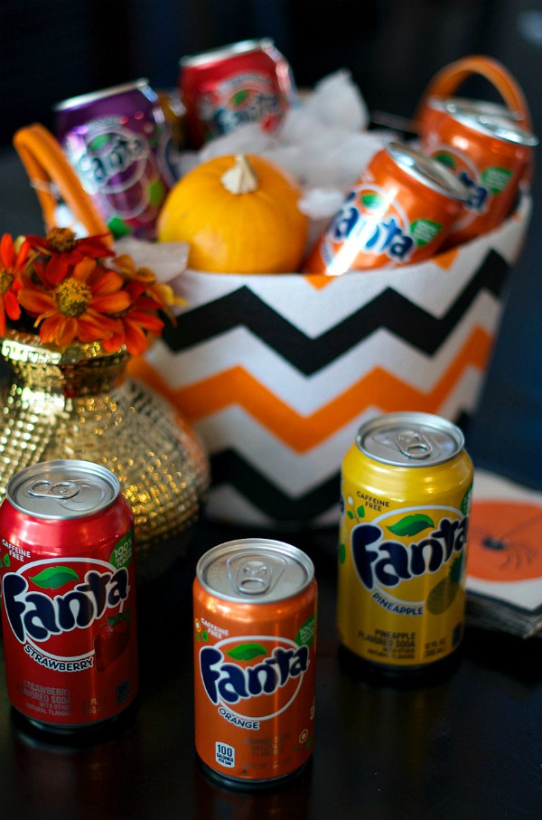 Fanta and Nutter Butter $500 Contest + Cookie Caramel Rolls Recipe #SpookySnackLab
