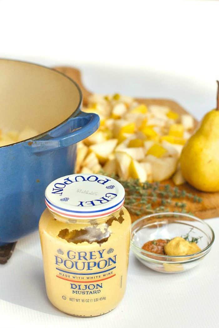 Easy Pear Potato Soup Recipe - Grey Poupon