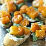 Roasted Butternut Squash Crostini