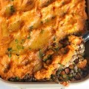 Shepherd's Pie with Cheese Recipe