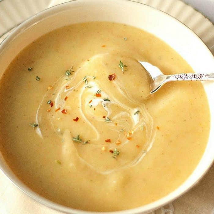 Pear Potato Soup Recipe - so good