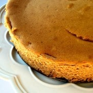 Sweet Potato Cheesecake for holiday entertaining