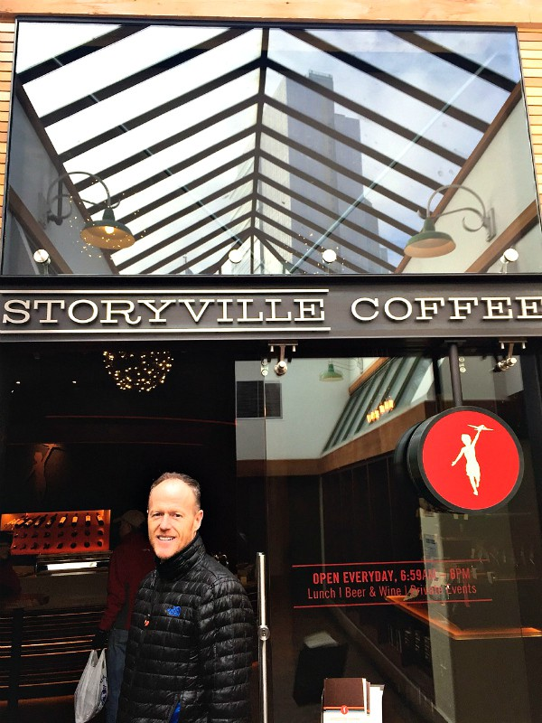 Storyville Coffee, Pike Place, Seattle