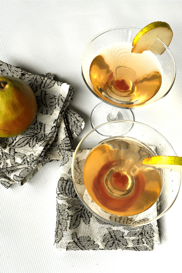 Friends, I created a Pear Martini over at Harry & David's Blog. Have ...