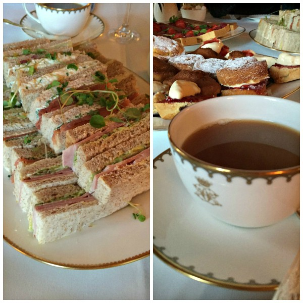 Downton Abbey Egg Salad Tea Sandwiches
