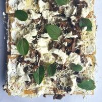 Mushroom Burrata Lasagna