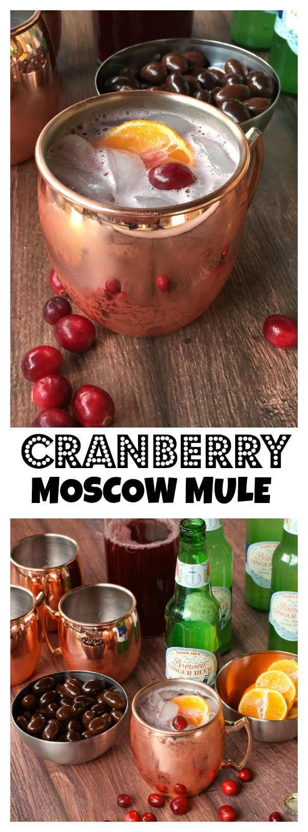Delicious for the holidays: Cranberry Moscow Mule drink recipe