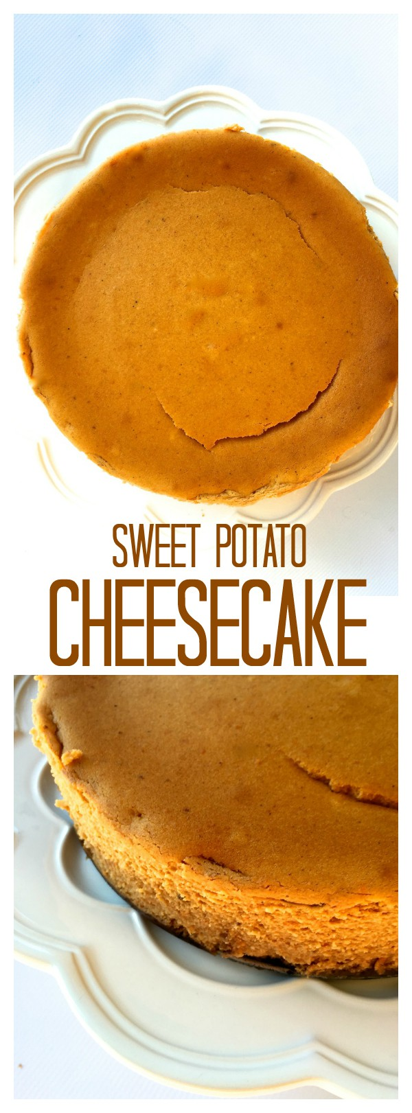 Make ahead this Sweet Potato Cheesecake for easy entertaining!