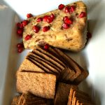 Sticky Toffee Cheese Gingerbread Cookies Dessert