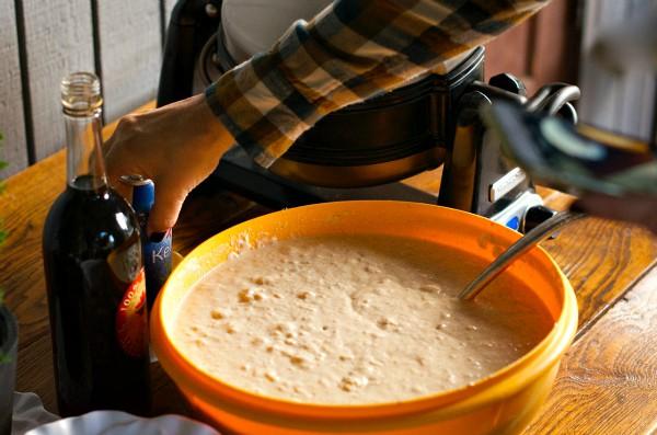 Gluten-Free Buttermilk Waffles with KitchenAid Pro Line Waffle Baker