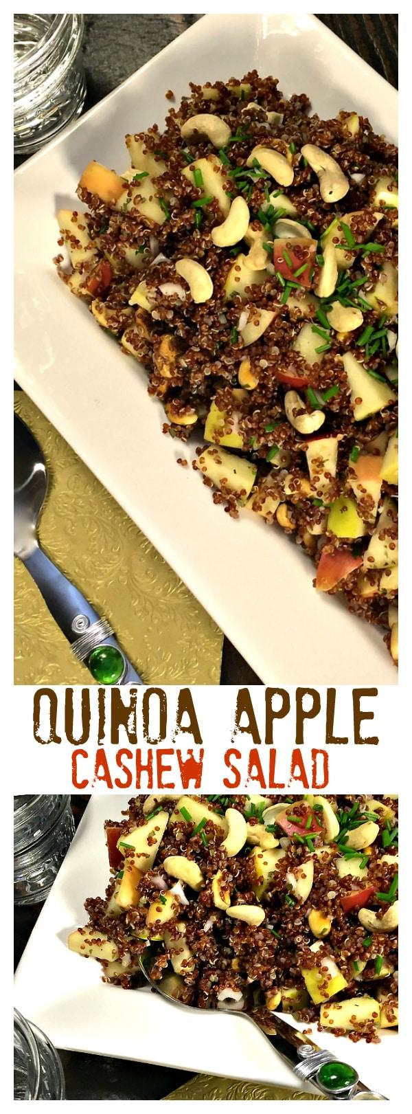 Quinoa Apple Cashew Salad
