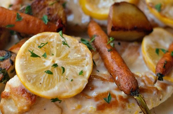 Skillet Lemon Chicken