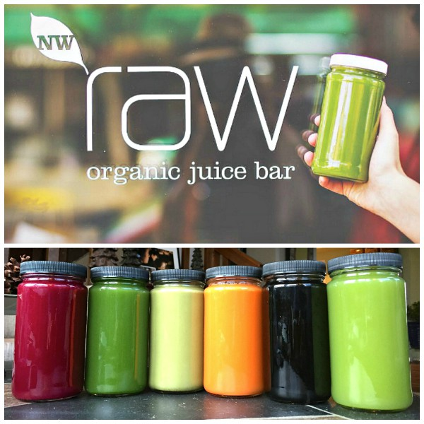 NW Raw Juice Bar, Ashland, Oregon