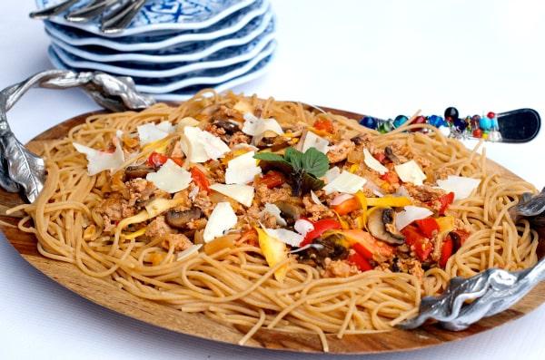 Turkey Mushroom Bolognese