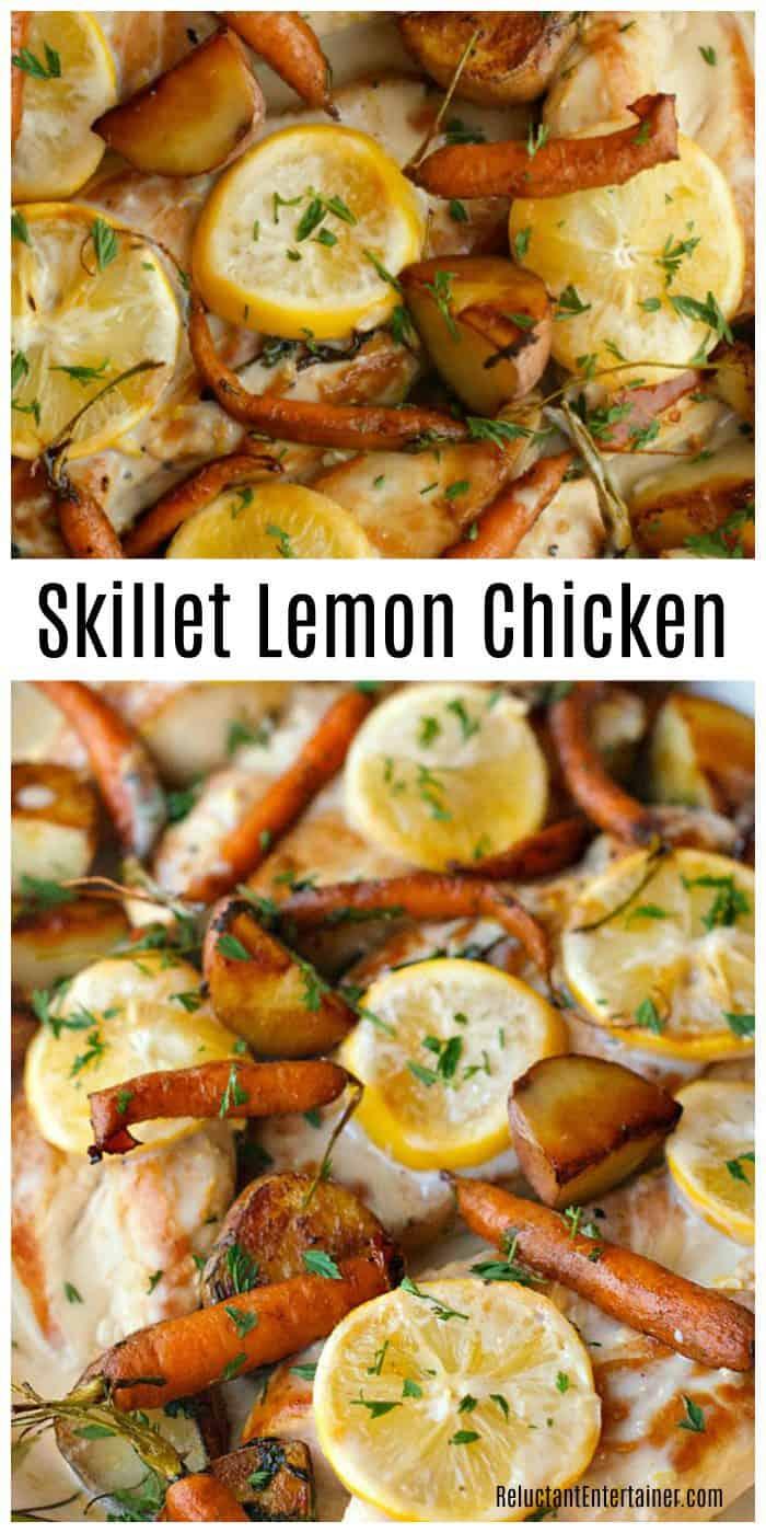 Skillet Lemon Chicken Recipe