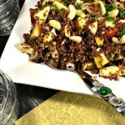 Quinoa Apple Cashew Salad