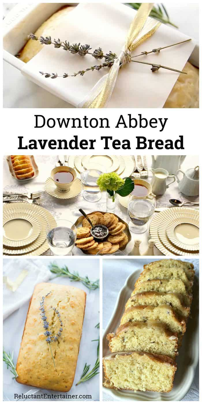 Downton Abbey Lavender Tea Bread Recipe