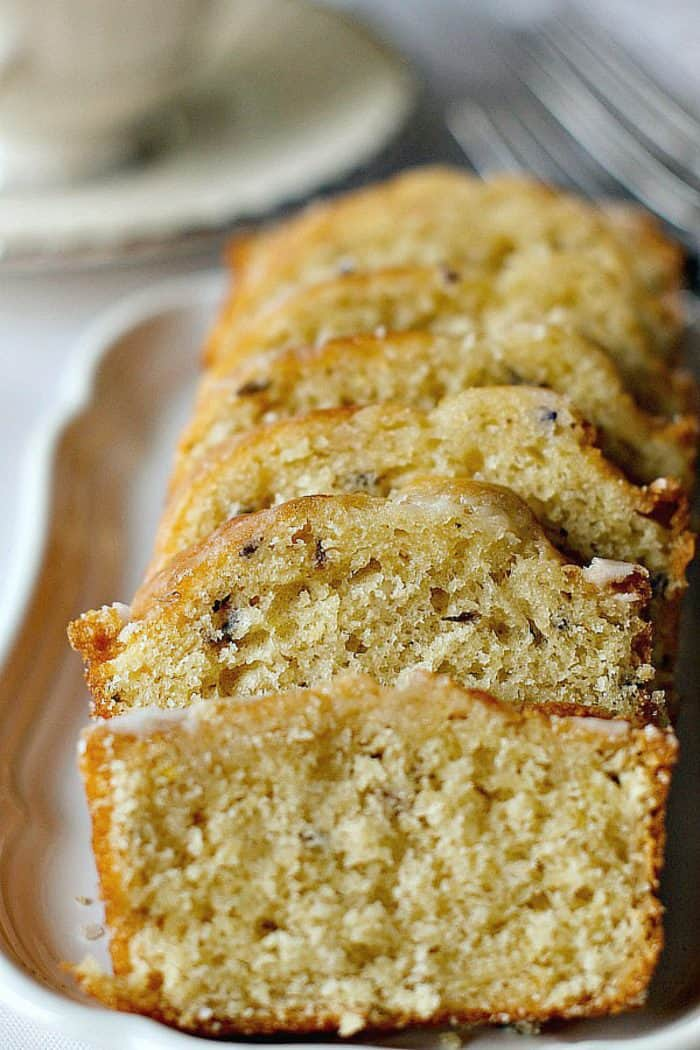 Downton Abbey Lavender Tea Loaf Recipe