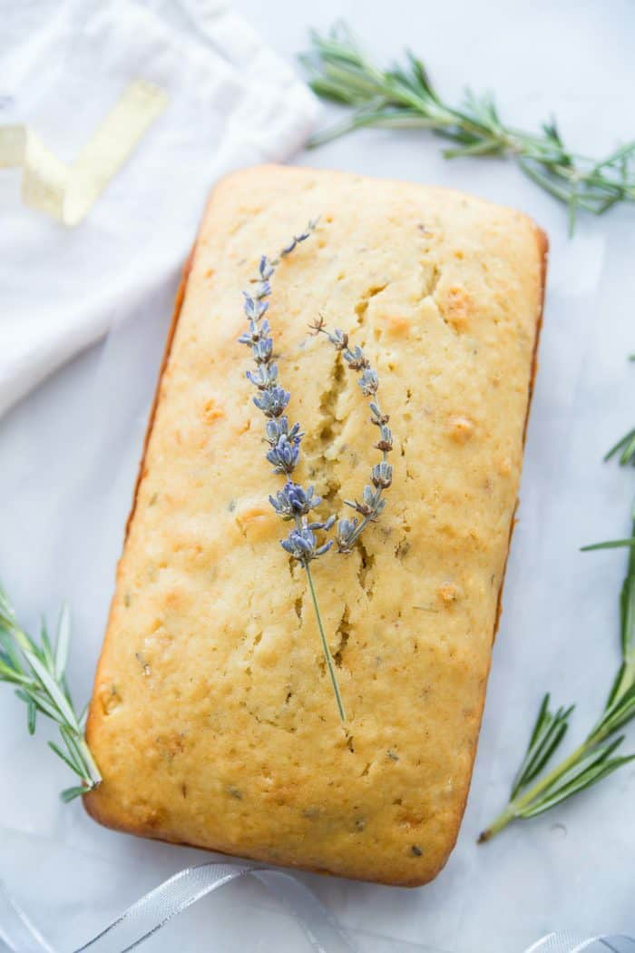 Downton Abbey Lavender Tea Loaf