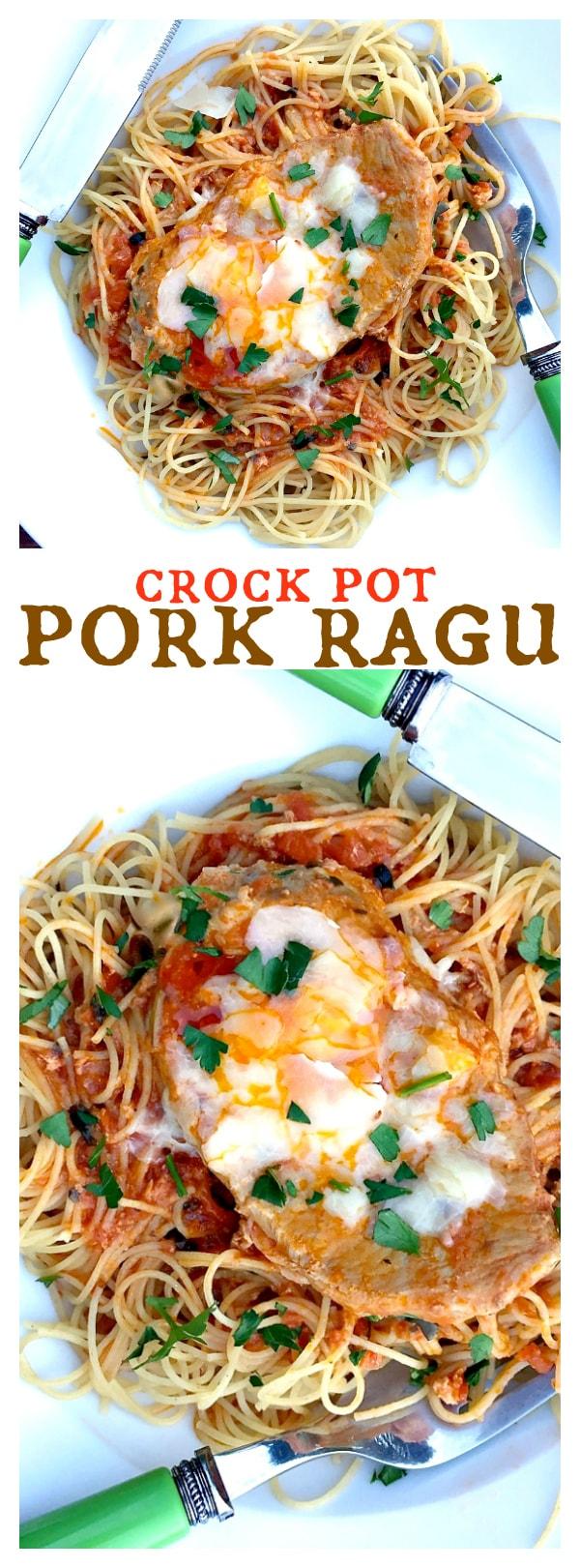 Crock Pot Pork Ragu