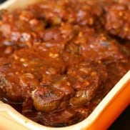 Barbecue Spareribs are slow cooked, and delightful tossed on the barbecue for camping or easy grilling!