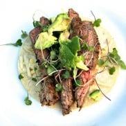 Flank Steak Tacos - easy 20 minute dinner!