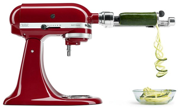 KitchenAid Stand Mixer + Spiralizer Giveaway!