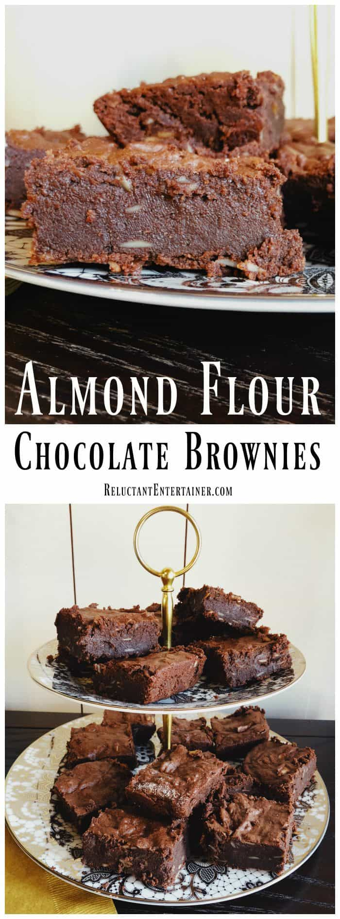 Almond Flour Chocolate Brownies