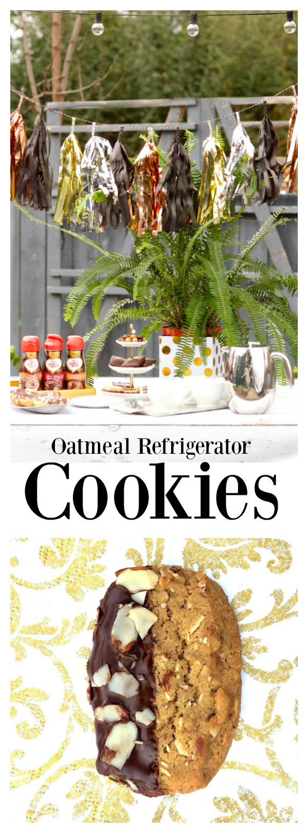 Refrigerator Oatmeal Cookies