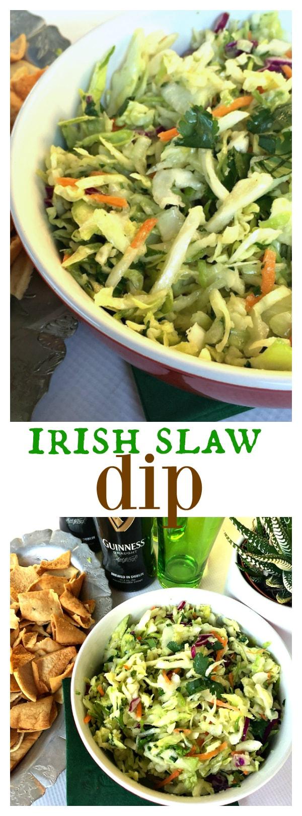 Irish Slaw Dip