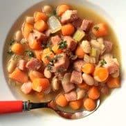 Great Nothern Beans Ham Carrot Soup