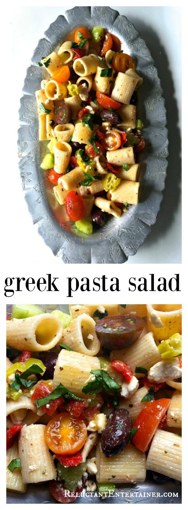 Make This Greek Pasta Salad Ahead Of Time And Refrigerate Up To 24 Hours For Delicious