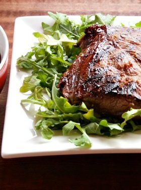 Delicious Marinated Steak