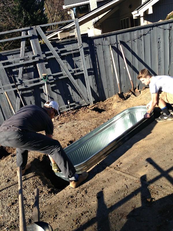 DIY Trough Pond