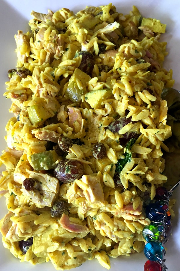 Curried Orzo Salad