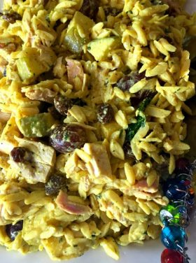 Curried Orzo Salad
