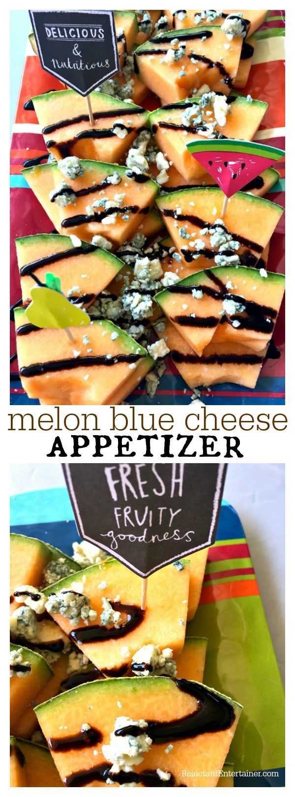 Melon Blue Cheese Appetizer