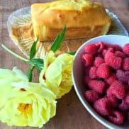 Camping Raspberry Butter Cake
