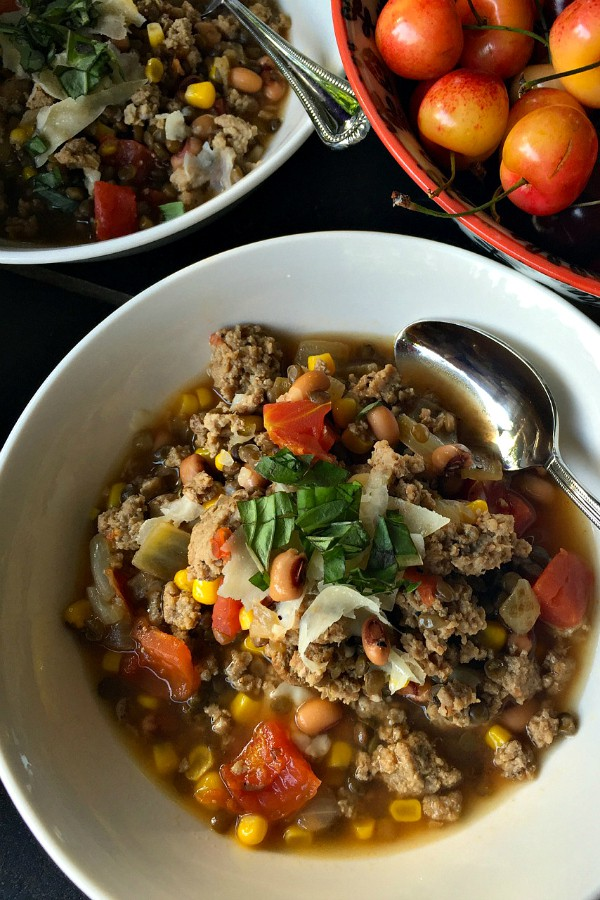 Pantry Vegetable Beef Soup