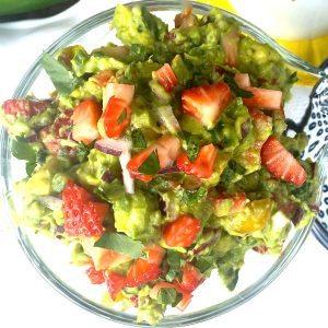 Strawberry Guacamole