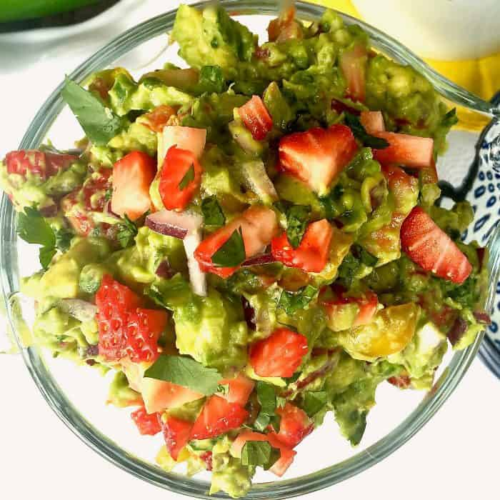 Best Strawberry Guacamole