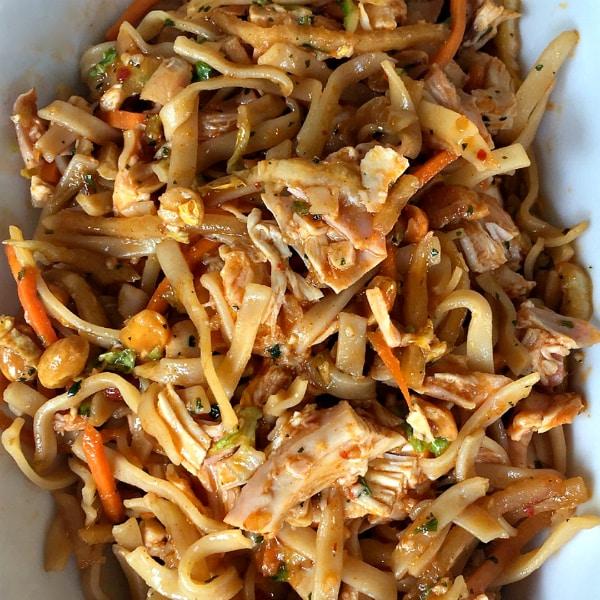 Easy Pad Thai Salad