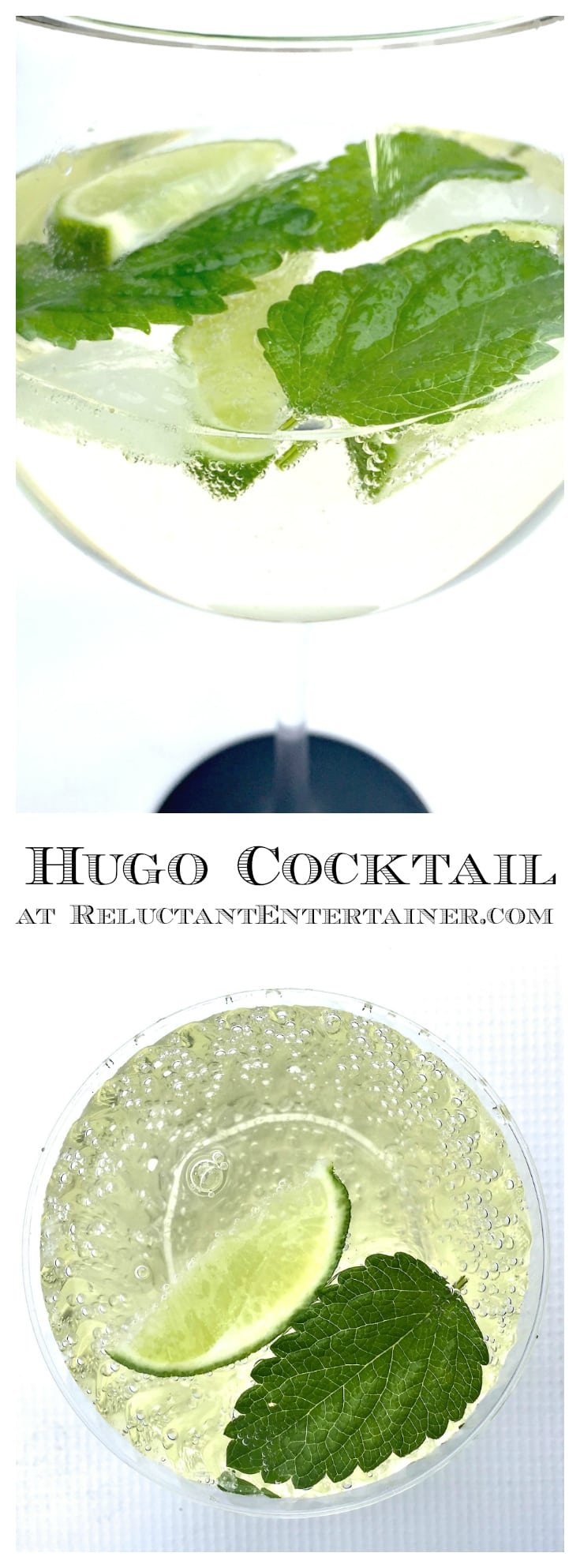 Hugo Cocktail Recipe - the perfect celebration drink!