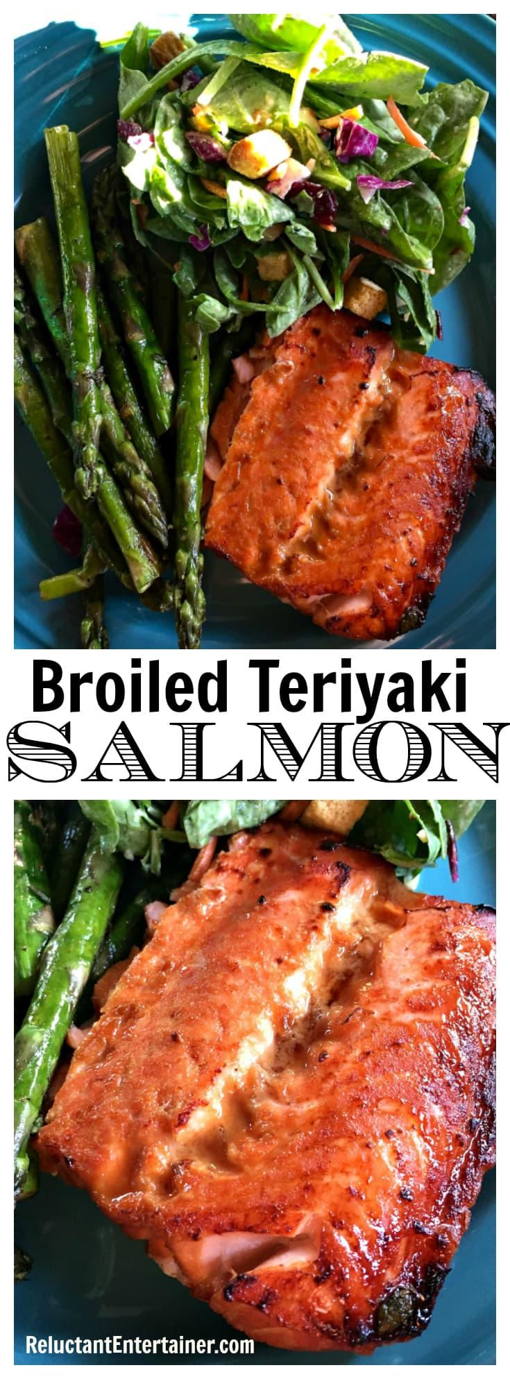 Broiled Teriyaki Salmon