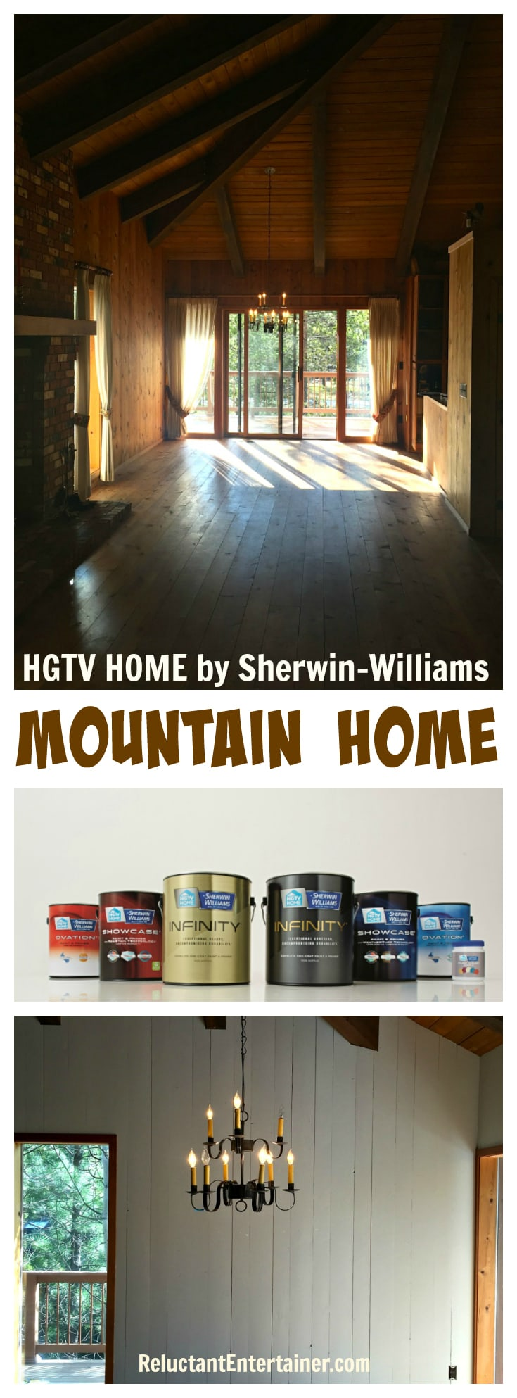 HGTV HOME by Sherwin-Williams Paint for #MountainHome