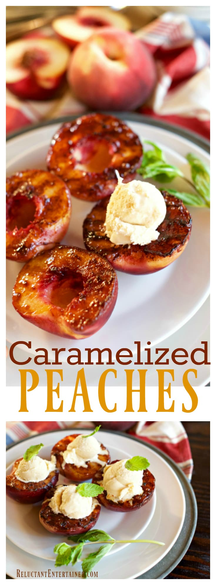 Caramelized Peaches Recipe