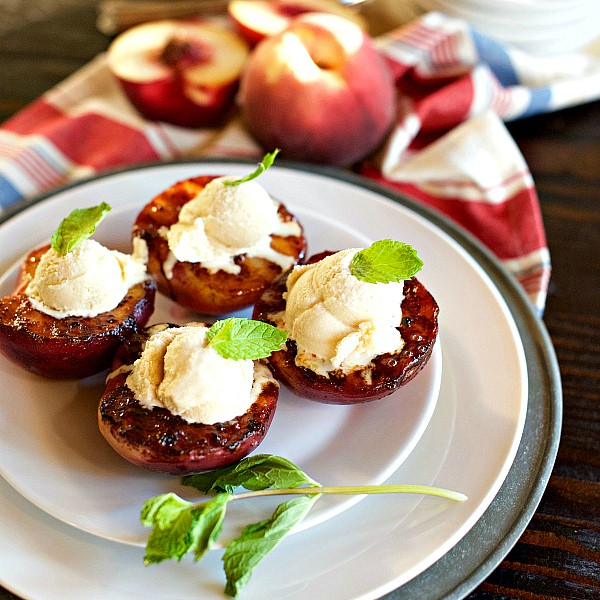 Caramelized Peaches Recipe